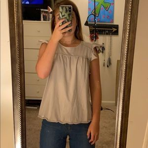 Pastel Purple Abercrombie and Fitch shirt